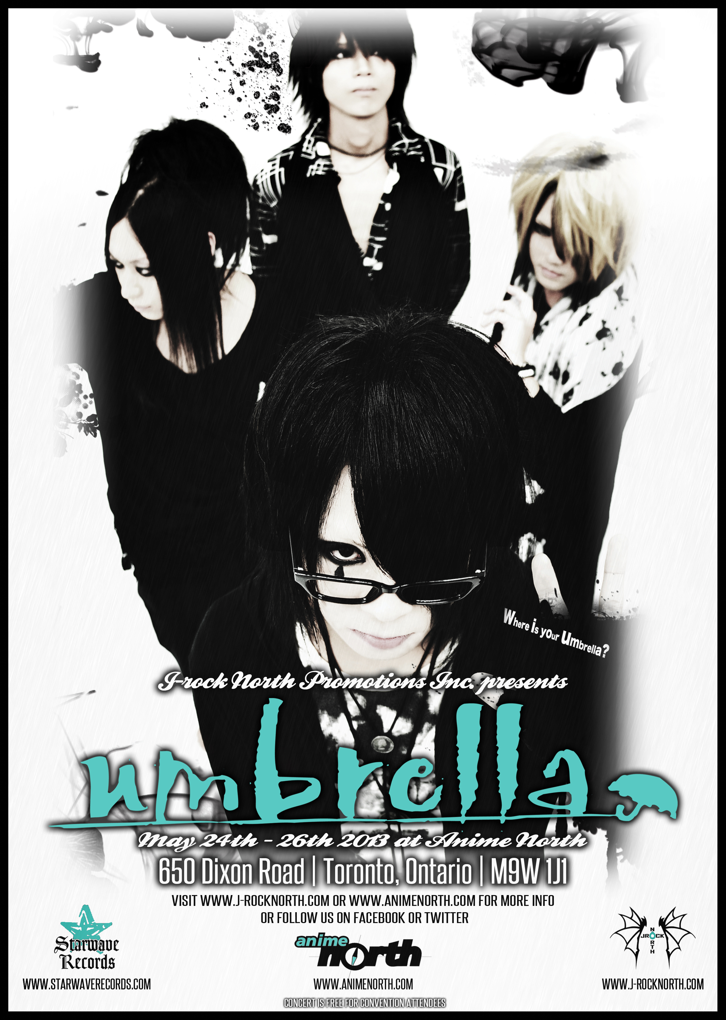 Umbrella AN 2013 poster